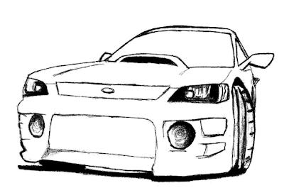 Mitsubishi Eclipse Drift Car