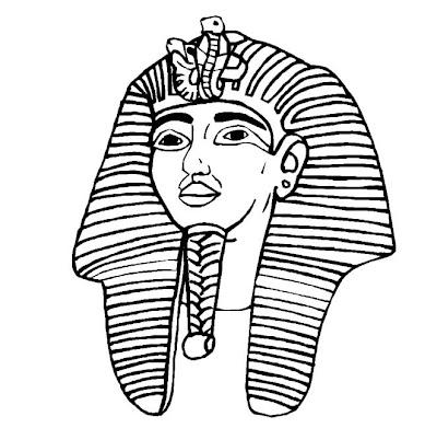 Imagens De Farao Para Colorir Desenhos Do Egito Para Colorir