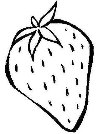Desenho De Fruta Colorir Morango Desenhos Para Colorir
