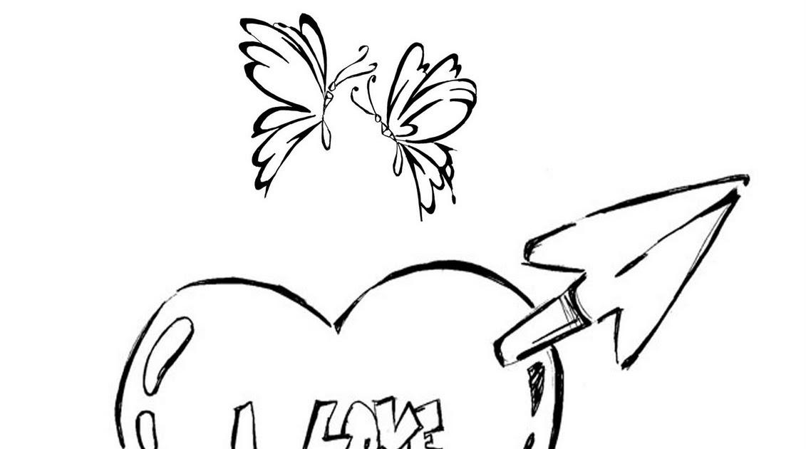 Desenho De Coração Para Colorir Desenhos Infantil Para