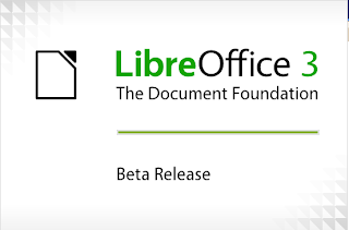 Libre office 3 beta