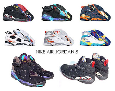 d9b1b45d9ba One thing about the Nike Air Jordan 8 is that it s a bit heavy to wear  compared to other basketball shoes at that time but it s way cooler in  terms of ...