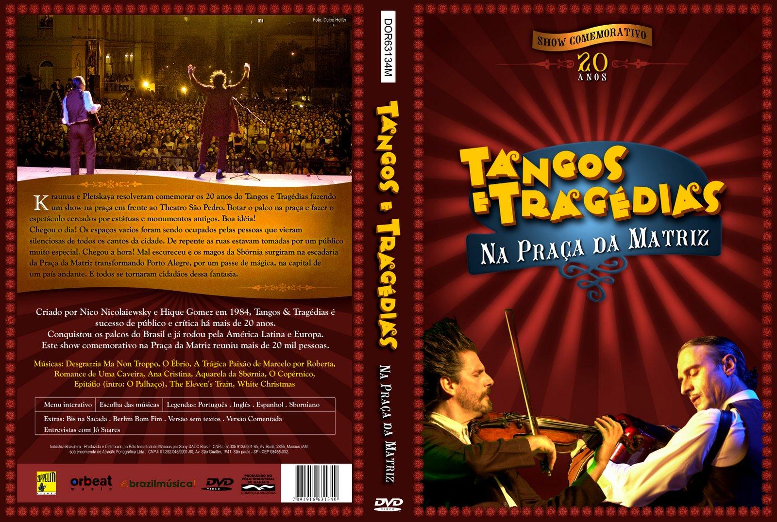 Resultado de imagem para Tangos E Tragédias - Na Praça Da Matriz dvd