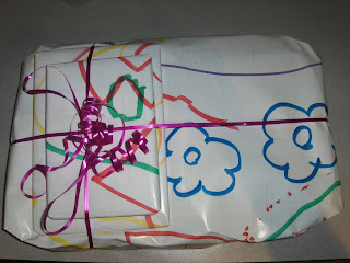 wrapping paper activity