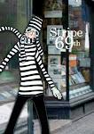 stripe outside bookstore