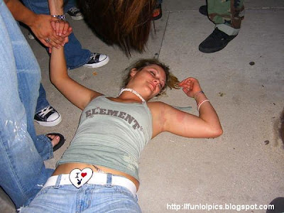 Drunk passed out girls good