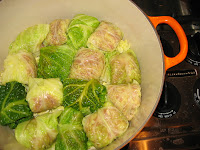 Enjoy this traditional Hungarian holiday meal with my family recipe. Learn how to make cabbage rolls with these easy tips. #WomenLivingWell #cabbagerolls #hungarianrecipes #holidaymeals