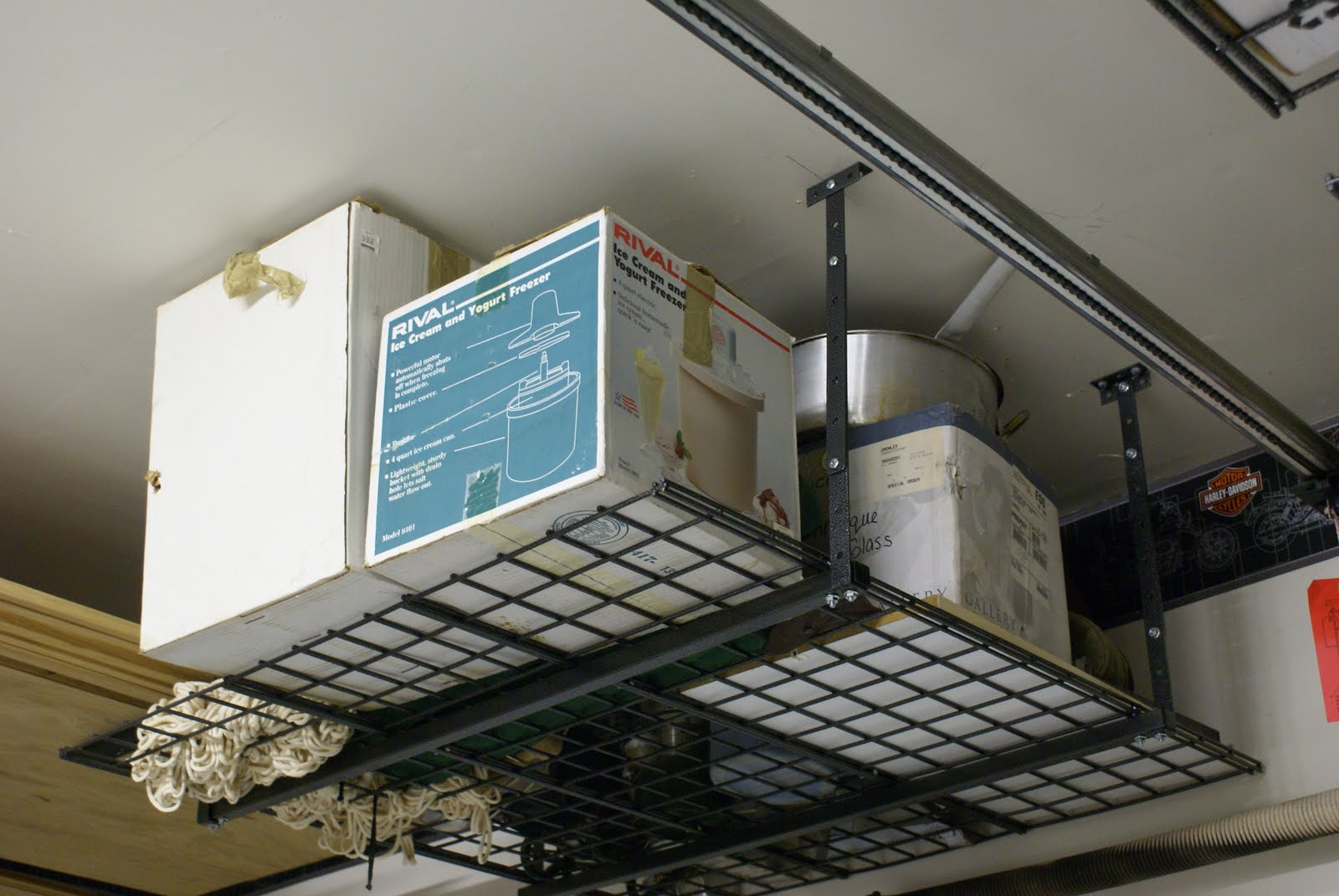 Organize Conquer Clutter Beautify Your Home Ceiling Storage