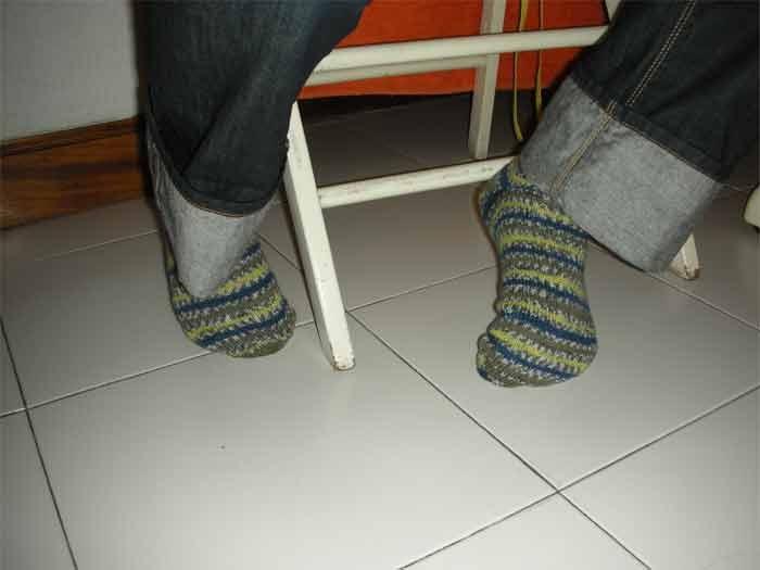 Mis cositas calcetines de punto - Como hacer calcetines de punto ...