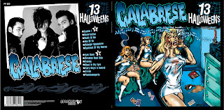 here are some rarely seen cd covers for a euro release of 13 halloweens that didnt quite play out - Calabrese 13 Halloweens