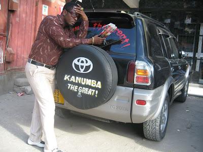 Mcheza filamu wa Bongo, Steven Kanumba, siku hizi anajiita Kanumba The