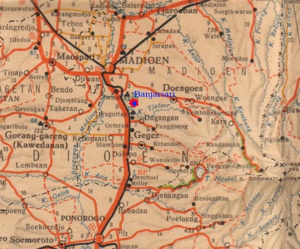 Peta Menuju Banjarsari