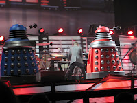 Too-big Daleks invade the stage