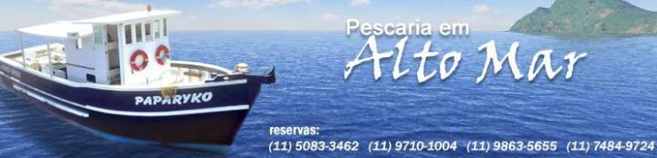 Blog Paparyko - Pescaria em Alto Mar
