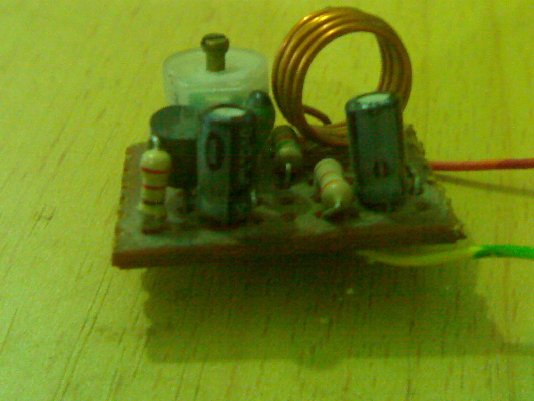 Tiny Fm Tv Jammer Hot Resistor Hobbyfun Gsm Cell Phone Circuit Schematic