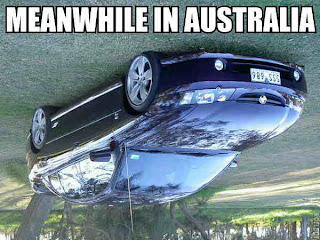 meanwhile in australia, car