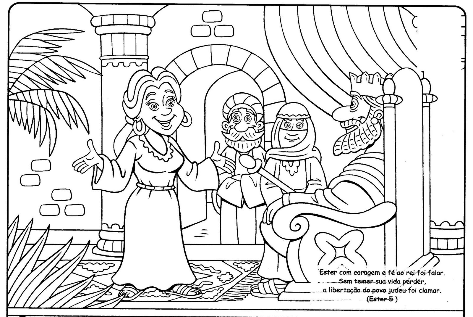 Desenhos Para Colorir Igreja Pentecostal Deus E Fiel
