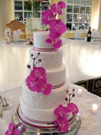 Gateau Wedding Cake Orchidee