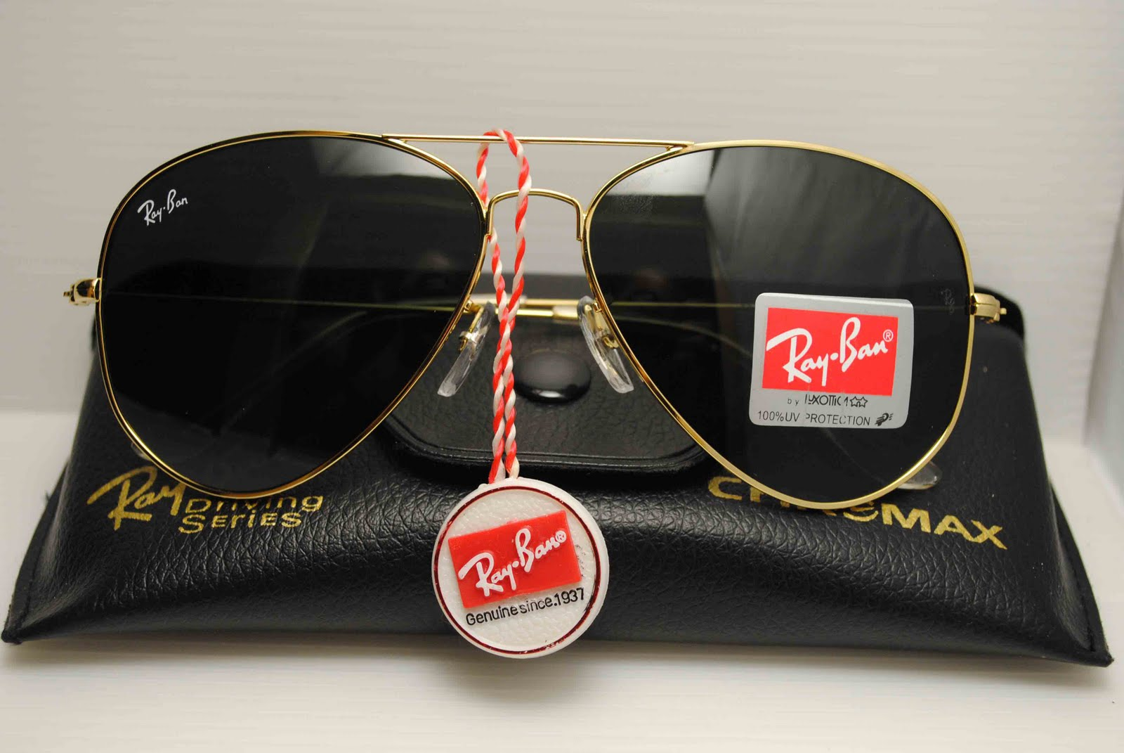 4d4e0d7597b Ray Bans Black And Gold Aviator Sunglasses « Heritage Malta