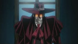 Alucard from Hellsing Ultimate DVD