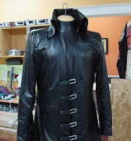 The AbbyShot Sephiroth Coat - Closeup