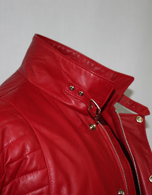 AbbyShot's Akira Inspired Kaneda Jacket - The Pill Jacket! (Close-up of collar)