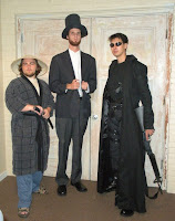 AbbyShot Matrix Coat - Customer Photo with Abe Lincoln