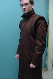 AbbyShot's Prototype of the Metal Gear Inspired Liquid Snake FOXHOUND Coat - Buttoned Up Coat