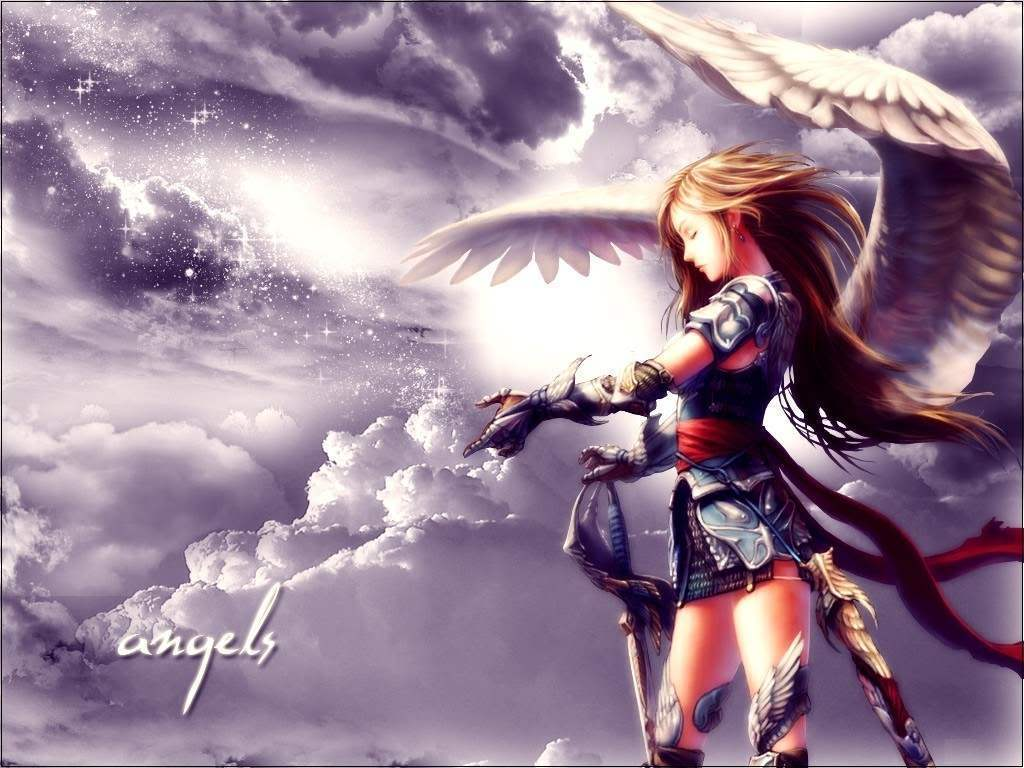 October 2012 angel background wallpapers - Fantasy wallpaper anime ...