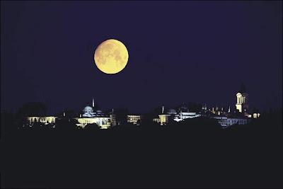 Topkapi Sarayi. Gece
