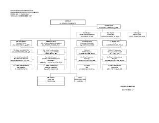 Bagan disamping ini adalah struktur organisasi Dinas Kesehatan ...