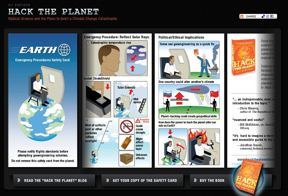 Earth Emergency Procedures Safety Card | ThoughtGadgets