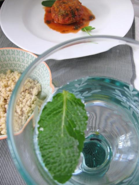 Foodwanderings Moroccan Veal And Beef Stuffed Artichoke