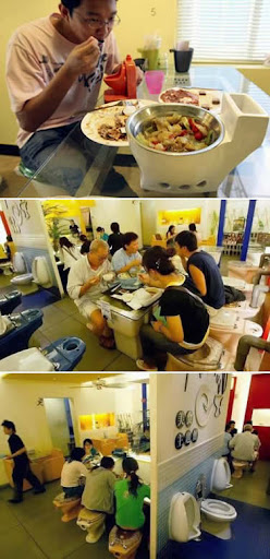 Weird Toilet Restaurant