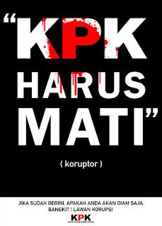 KPK Harus Mati karya thesigeet