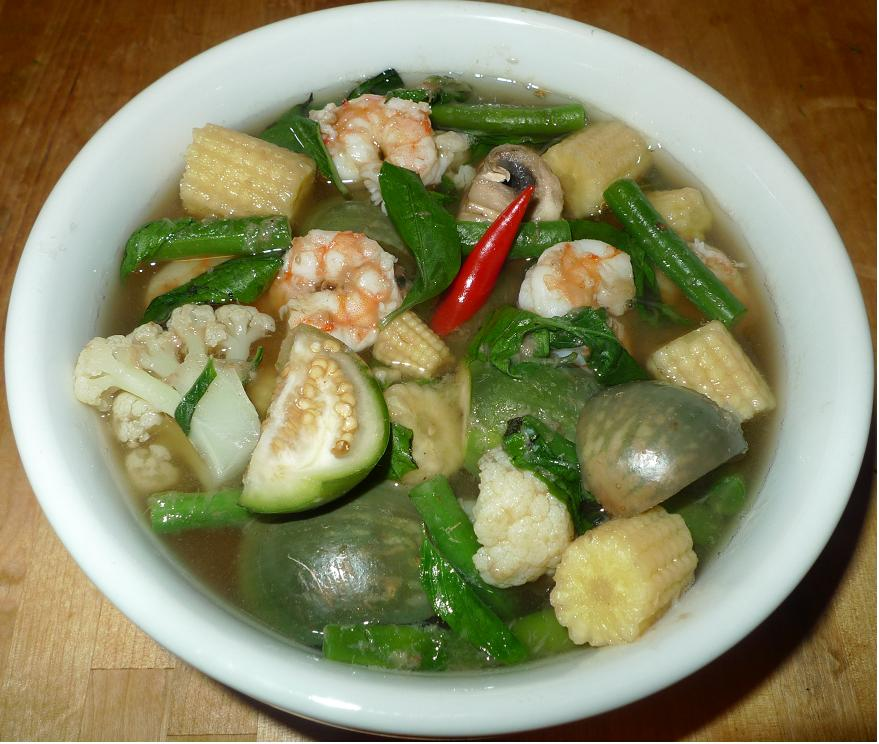 Thai Kitchen Chester: Amporn's Thai Kitchen: Thai Leang Curry With Shrimp
