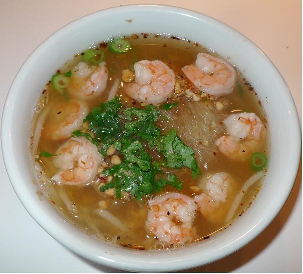 Thai Kitchen Chester: Amporn's Thai Kitchen: Thai Mung Bean Noodle Soup With Shrimp