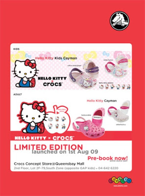 a2745c701 welcome to glazsliper s experiences  Hello Kitty Crocs Limited Edition