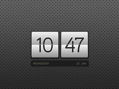 date and time wallpaper  Stunning Wallpaper Clocks For Ubuntu - Installation Simplified