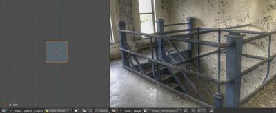 Urban Stairway Scene Blender Tutorial