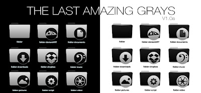 Last Amazing Grays icon theme