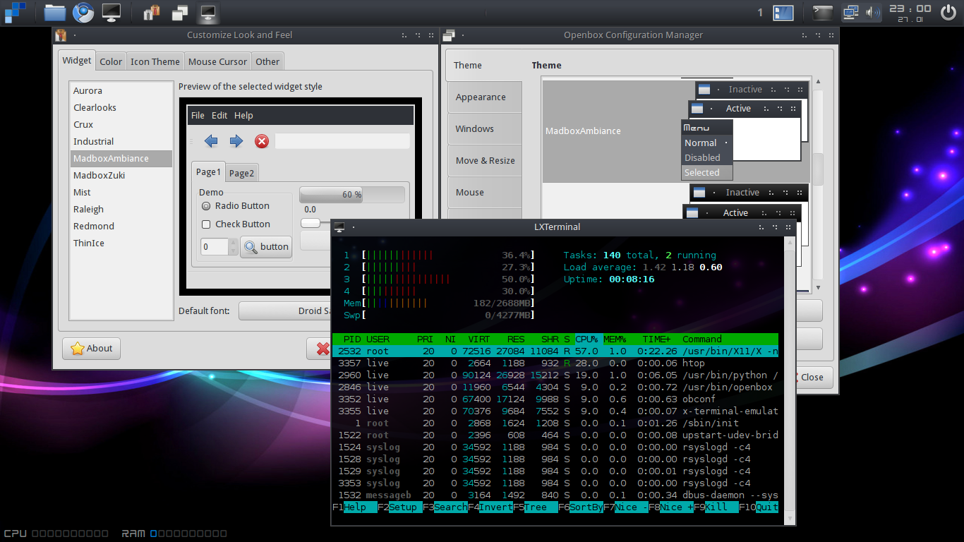 MadBox 10 10 Review - An Ubuntu Based Openbox Distro