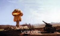 GRABLE-BRADLEY: Test:Grable; Date:May 25 1953; Operation:Upshot/Knothole; Site:Nevada Test Site (NTS), Area 5; Detonation:Artillery shell airburst, altitude - 500; Yield:15kt; Type:Fission