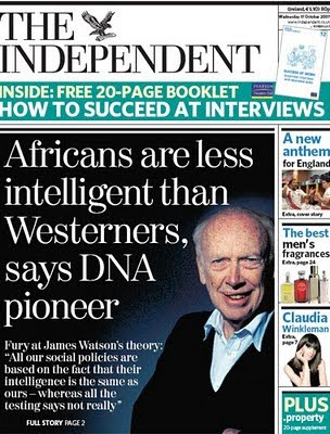 [Image: Independent_JamesWatson_Intelligence.jpg]