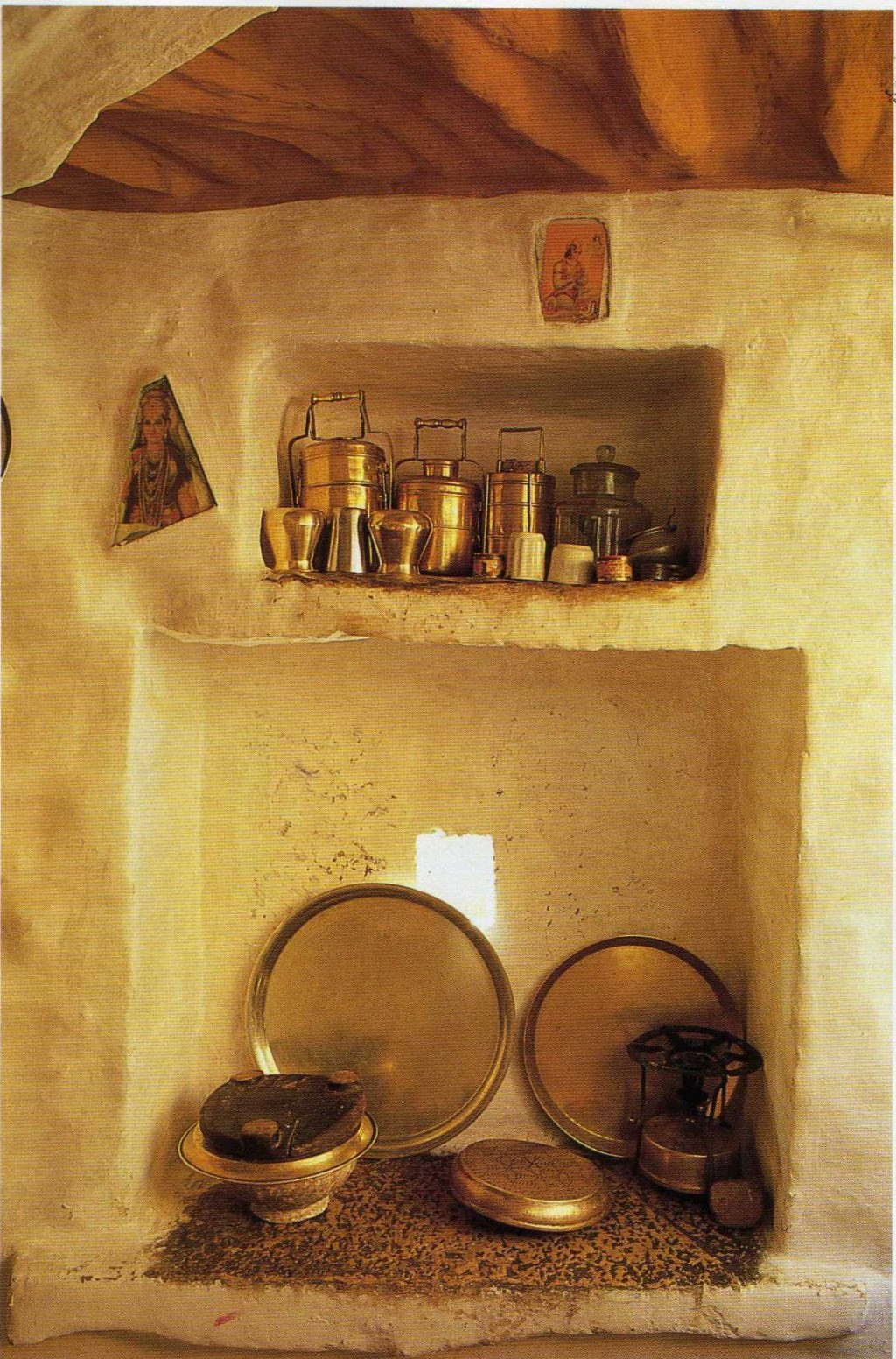Saffron And Silk Interior Design In Rural India