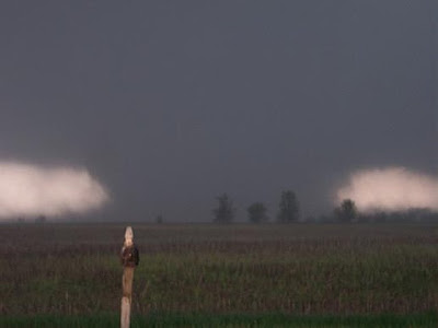 Tornado approaching National Weather Service