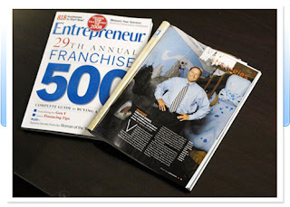 George Davison CEO of Davison in Entrepreneur Magazine