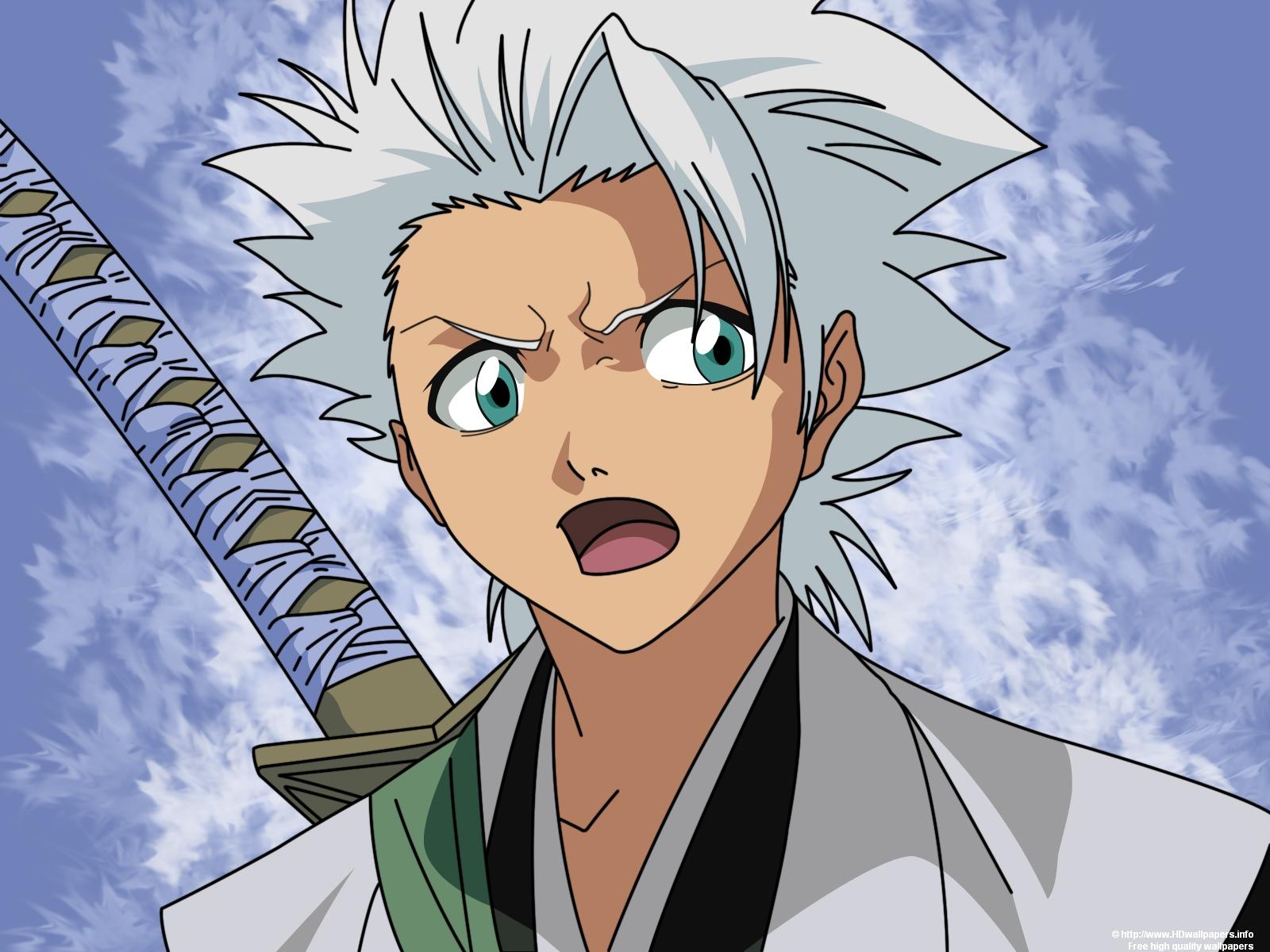 Anime Wallpaper Bleach Baggrund - Hitsugaya Toshiro-9970