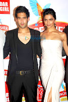 Deepika and Siddharth Mallya at Kingfisher Calendar Event Photos