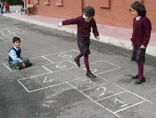 Easy Ways to Play Hopscotch - wikiHow |Rules For Playing Hopscotch